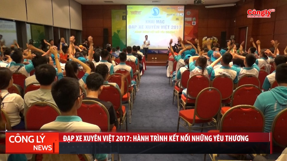 Đap xe xuyên Việt 2017: Hành trình kết nối những yêu thương