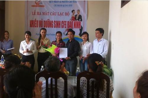 Lễ ra mắt CLB Khiêu vũ dưỡng sinh CFE Bảo Ninh