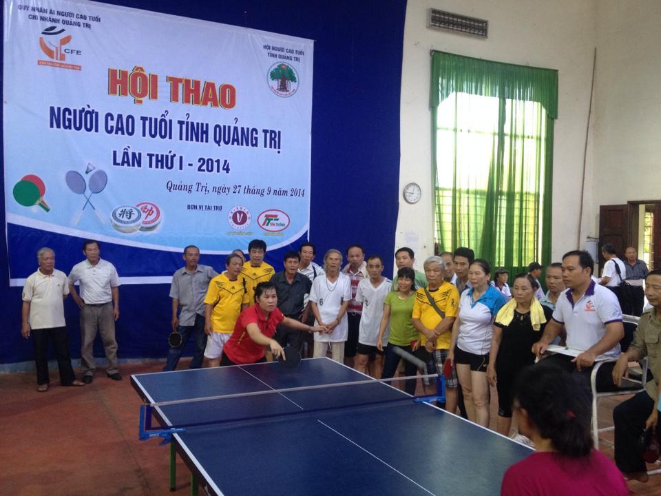 Hội thao người cao tuổi tỉnh Quảng Trị
