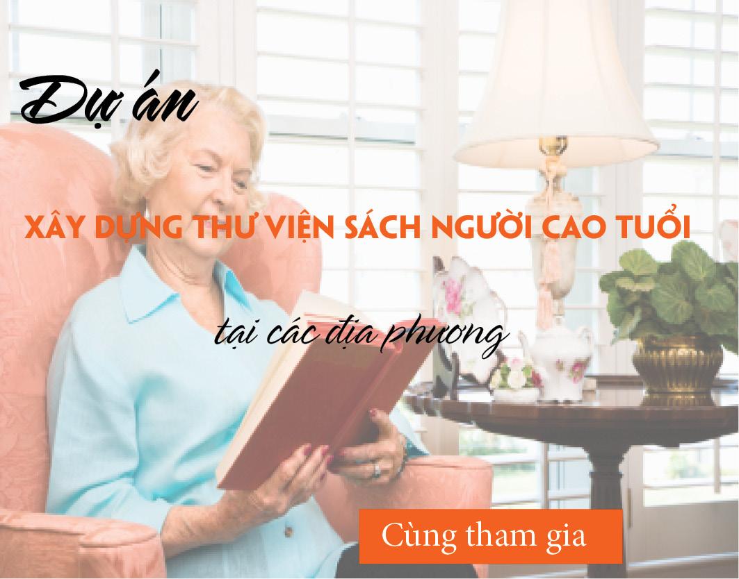 """Dự án """" Tủ sách nhân ái """" phục vụ Người cao tuổi tại các địa phương"""