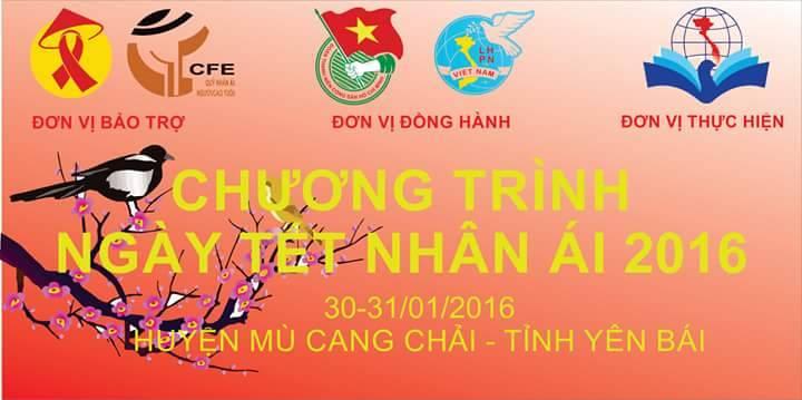 Chương trình ngày tết nhân ái tại huyện Mù Cang Chải tỉnh Yên Bái