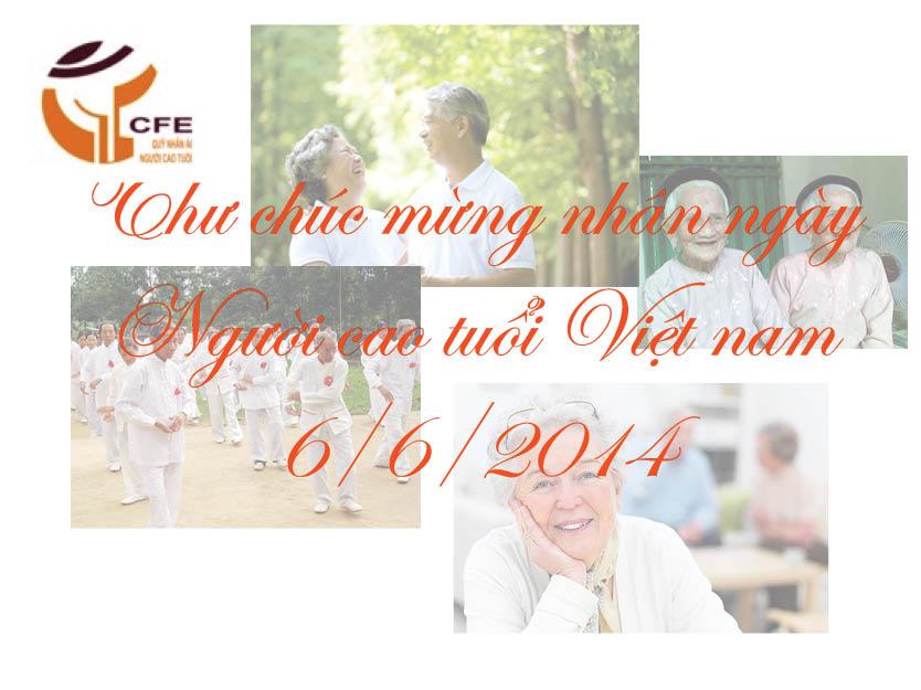 Thư chúc mừng nhân ngày Người cao tuổi Việt nam 6/6/2014